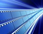 Cinema background — Stock Photo