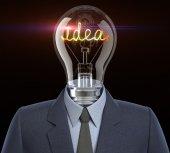 человек идеи — Стоковое фото
