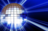 Shining disco mirrorball  — Stock Photo