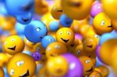 Smily faces  — Stock Photo