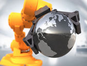 High technology world  — Foto Stock