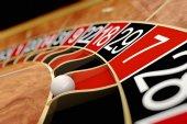 Casino roulette. Seven red  — Foto Stock