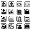 Financial icons set — Stock Vector #60199535