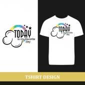 Tshirt design — Stock Vector