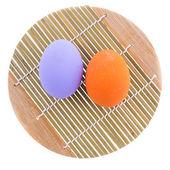 Färga ägg — Stockfoto