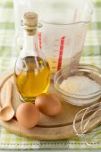 Baking Ingredients — Stockfoto
