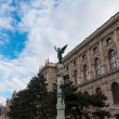 Statue on the Maria Theresien Platz, Vienna — Stock Photo #68802451