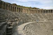Old Roman amphitheatre in Turkey — Stock Photo