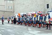 Historical dressed men — 图库照片
