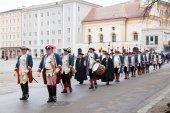 Celebration of Inauguration of new archbishop — Stock Photo