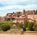 Medieval village Roussillon — Stock Photo #52860305