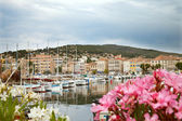 Boats at quay in La Ciotat — Stock Photo