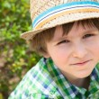 Small boy with hat — Stock Photo #52982091
