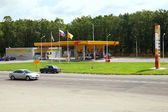 Rosneft gas station, Russia — Stock Photo