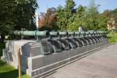 Ancient artillery Cannons — Zdjęcie stockowe
