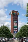 Publicity of retail company — Stock Photo