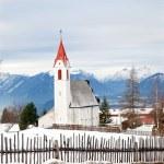 Small alpine village, Austrian — Stock Photo #63368787