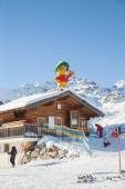 Ski school in Serfaus-Fiss-Ladis — Stock Photo