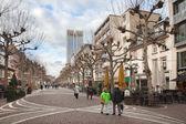 The Zeil avenue in winter — Stock Photo