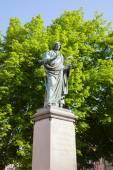 Monument de Copernic dans la ville — Photo