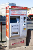 Machine automatique de station pour la vente des billets — Photo