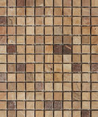 Fawn tone stone mosaic — Stock Photo