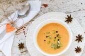 Zupa krem z dyni — Zdjęcie stockowe