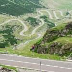 Transfagarasan road. Fagaras Mountains Beautiful view of Carpathians Mountains. — Stock Photo #78656054