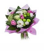Een boeket van bloemen — Stockfoto