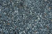 Texture of black granite gravel — Foto Stock