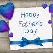 Happy Father's Day greeting card — Stock Photo #73436399