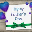 Fathers Day greeting banner — Stock Photo #73437693