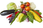 Vegetables isolate — Stock Photo