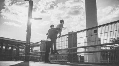 Couple Celebrating LIfe — Vídeo Stock
