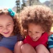 Friendly children laughing together — Stock Video #69854731