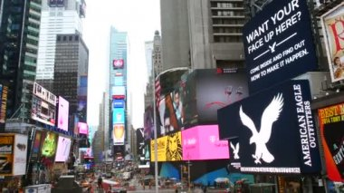 Times Square in New York — Stock Video
