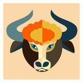 Horoscope sign of the zodiac — Stok Vektör