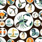 Horoscope sign of the zodiac — Stock Vector