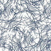 Texture branches seamless pattern — Stock Vector