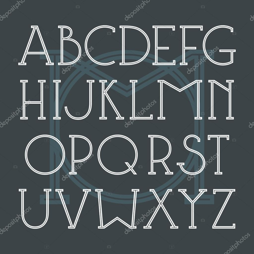 Serif typsnitt