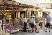 Touristic shop — Stock Photo
