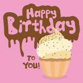 Wszystkiego najlepszego z okazji urodzin — Wektor stockowy