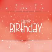Proficiat met je verjaardag — Stockvector