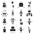 Robot sets — Stock Vector #52558309