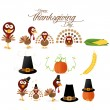 Thanksgiving set — Stock Vector #52559063