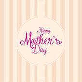 Mother's day — Stok Vektör