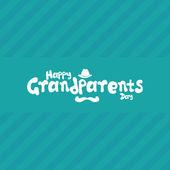 Grandparents' day — Stock Vector