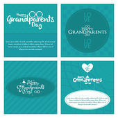 Grandparents' day — Stock Vector