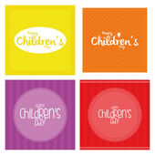 Children's day — 图库矢量图片