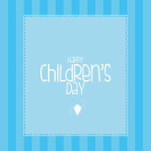Children's day — Stockvector